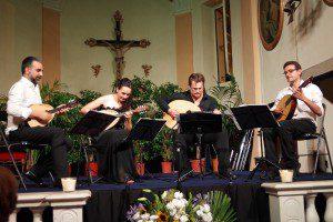 Le Kerman mandoline Quartet